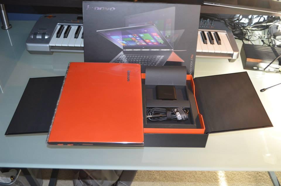 Traveling with the Lenovo Yoga 3 Pro – DJ Music Tech